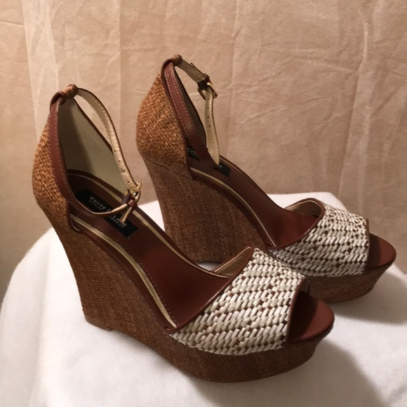 2bccdce44b White House Black Market Shoes | High Heel Wedges | Poshmark